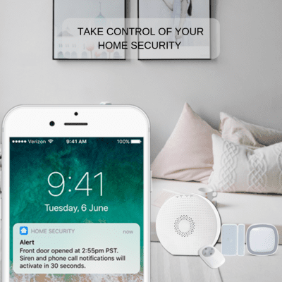 Smart Home Security System (Wi-Fi ONLY)